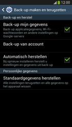 Samsung I9505 Galaxy S IV LTE - Toestel - Fabrieksinstellingen terugzetten - Stap 7