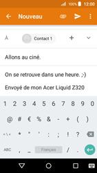 Acer Liquid Z320 - E-mail - envoyer un e-mail - Étape 9