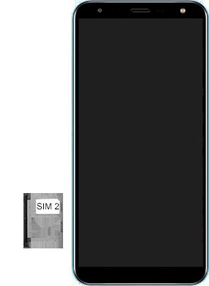 LG K12+ - Primeiros passos - Como inserir o chip da Nextel no seu celular - Etapa 8