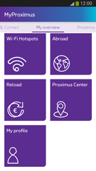 Samsung I9300 Galaxy S III - Applications - MyProximus - Step 23
