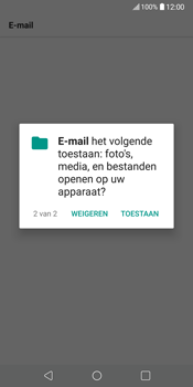 LG V30 (H930) - E-mail - Account instellen (POP3 met SMTP-verificatie) - Stap 23