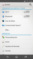 Sony Xperia Z3 - Internet - Activar o desactivar la conexión de datos - Paso 4