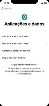 Apple iPhone X - Primeiros passos - Como ligar o telemóvel pela primeira vez -  15