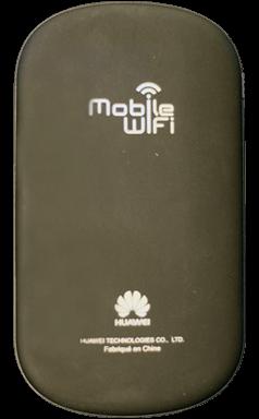 Huawei E587 - Premiers pas - Noter les codes Wi-Fi - Étape 2