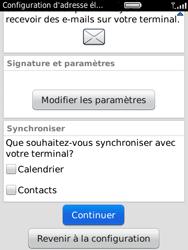 BlackBerry 9800 Torch - E-mail - Configuration manuelle - Étape 10