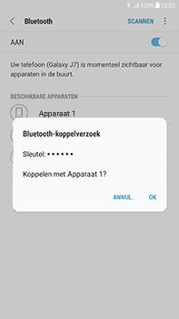 Samsung Galaxy J7 (2017) - Bluetooth - headset, carkit verbinding - Stap 8