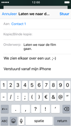 Apple iPhone 5c met iOS 10 (Model A1507) - E-mail - Hoe te versturen - Stap 8