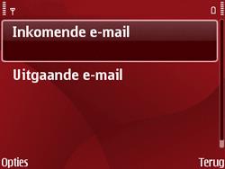 Nokia E63 - E-mail - Handmatig instellen - Stap 18