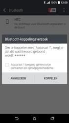 HTC Desire 530 - WiFi en Bluetooth - Bluetooth koppelen - Stap 7