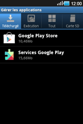 Samsung Galaxy Ace - Applications - Supprimer une application - Étape 10