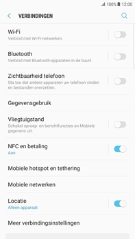 Samsung Galaxy S6 edge+ - Android Nougat - NFC - NFC activeren - Stap 6