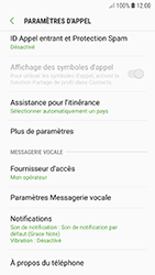 Samsung Galaxy A3 (2017) - Android Oreo - Messagerie vocale - configuration manuelle - Étape 8