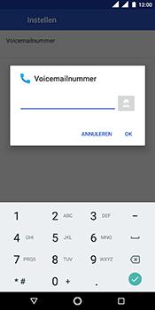 Nokia 5.1 - Voicemail - handmatig instellen - Stap 12