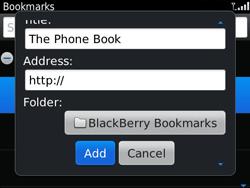 BlackBerry 9790 Bold - Internet - Internet browsing - Step 8