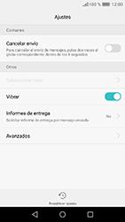 Huawei Y6 (2017) - Mensajería - Configurar el equipo para mensajes de texto - Paso 5