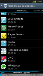 Samsung Galaxy S3 4G - Applications - Supprimer une application - Étape 5