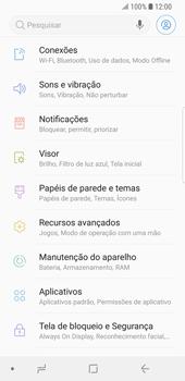 Samsung Galaxy S9 - Rede móvel - Como ativar e desativar uma rede de dados - Etapa 4