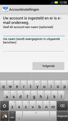 Acer Liquid E3 - E-mail - Handmatig instellen - Stap 17