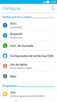 Asus Zenfone 3 - Rede móvel - Como ativar e desativar uma rede de dados - Etapa 4
