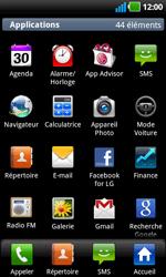 LG P970 Optimus Black - E-mail - envoyer un e-mail - Étape 2