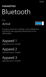 Nokia Lumia 635 - Bluetooth - connexion Bluetooth - Étape 8