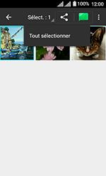 Alcatel U3 - Photos, vidéos, musique - Envoyer une photo via Bluetooth - Étape 7