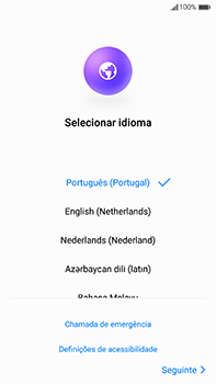 Huawei Mate 9 - Primeiros passos - Como ligar o telemóvel pela primeira vez -  4