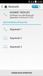 Huawei Y625 - Bluetooth - koppelen met ander apparaat - Stap 7