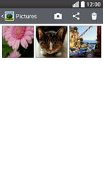 LG F70 - Photos, vidéos, musique - Envoyer une photo via Bluetooth - Étape 5