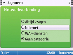 Nokia E5-00 - Internet - handmatig instellen - Stap 25