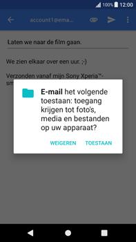Sony Xperia XA1 Plus - E-mail - Hoe te versturen - Stap 11