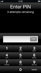 Apple iPhone iOS 6 - Primeiros passos - Como ativar seu aparelho - Etapa 7