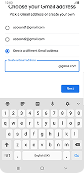 Samsung galaxy-s9-plus-android-pie - Applications - Create an account - Step 13