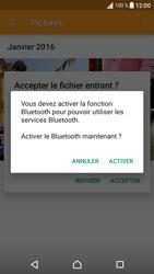Sony Sony Xperia XA - Photos, vidéos, musique - Envoyer une photo via Bluetooth - Étape 13