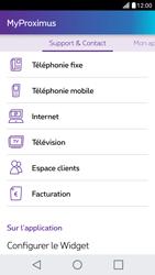 LG X Screen - Applications - MyProximus - Étape 22