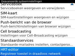 BlackBerry 9320 Curve - Instellingen - ontvangen via SMS - Stap 6