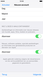 Apple iPhone 6s iOS 10 - Applicaties - Account instellen - Stap 17