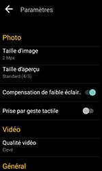 Alcatel U3 - Photos, vidéos, musique - Prendre une photo - Étape 6