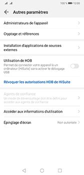 Huawei Mate 20 - Sécurité - modifier SIM PIN - Étape 5