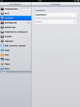 Apple iPad - Bellen - in het buitenland - Stap 3