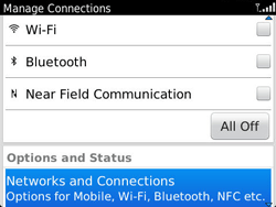 BlackBerry 9790 Bold - Network - Usage across the border - Step 4