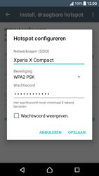 Sony xperia-x-compact-f5321-android-nougat - WiFi - Mobiele hotspot instellen - Stap 8