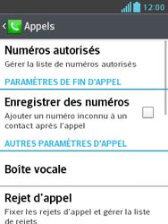 LG E430 Optimus L3 II - Messagerie vocale - Configuration manuelle - Étape 5