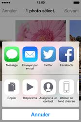 Apple iPhone 4S (iOS 8) - Photos, vidéos, musique - Prendre une photo - Étape 10