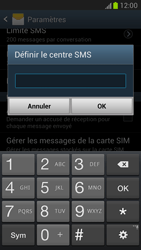 Samsung N7100 Galaxy Note II - SMS - configuration manuelle - Étape 5