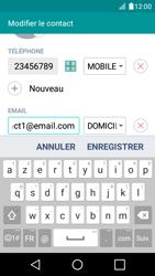 LG K4 - Contact, Appels, SMS/MMS - Ajouter un contact - Étape 9