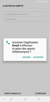 Samsung Galaxy Note 9 - E-mails - Ajouter ou modifier votre compte Outlook - Étape 10