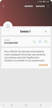 Samsung Galaxy Note 9 - Contact, Appels, SMS/MMS - Ajouter un contact - Étape 11