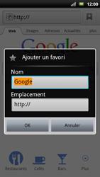 Sony Ericsson Xperia Neo - Internet - navigation sur Internet - Étape 5