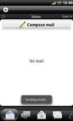 HTC S510e Desire S - E-mail - Sending emails - Step 12